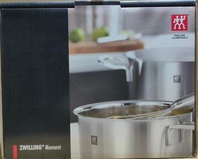 ╭*早安101 *╯【ZWILLING德國雙人】 雙耳淺湯鍋+日式廚刀二件組㊣↘1395元