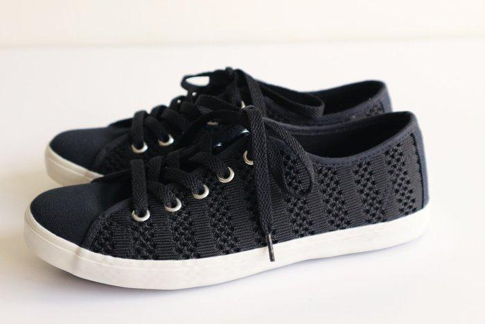 全新-黑色休閒鞋-黑色平底休閒鞋【網鞋女鞋平底鞋休閒鞋帆布鞋運動鞋工作鞋】