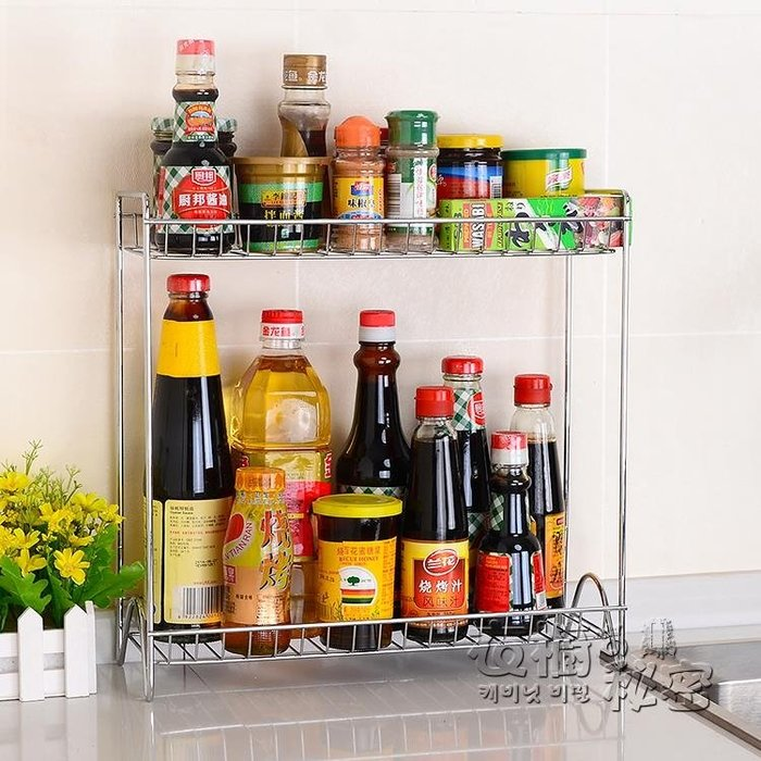 廚房置物架調味料架用品用具儲物架刀架調味品調味瓶收納調料架子
