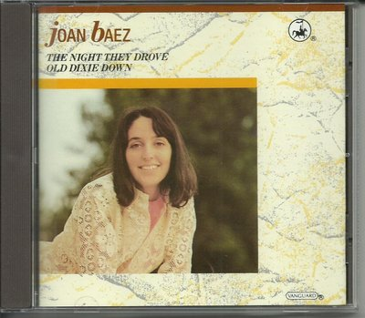 JOAN BAEZ THE NIGHT THEY DROVE OLD DIXIE DOWN CD_無IFPI ,英國版