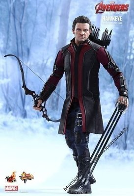 "Hot Toys hottoys MMS289 DX 12"" Avengers 2 AOU 復仇者聯盟 Hawkeye 鷹眼 Figure  玩具狂熱"