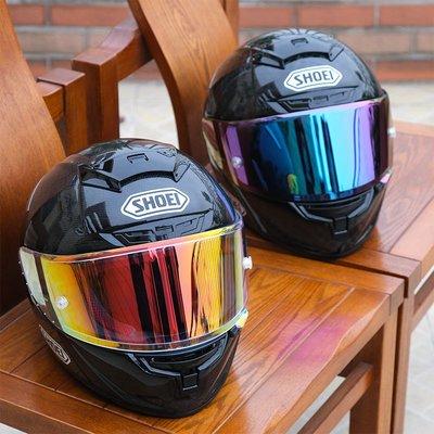 摩托車SHOEI頭盔全盔X14碳纖維紅招財貓螞蟻復古馬奎斯機車男四季騎手頭盔 騎士用品