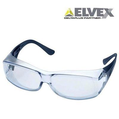 【原艾國際】美國ELVEX-DetectSpec金屬探測覆蓋式抗UV安全眼鏡SG-57-BMD-AF (可用X光) 高雄市