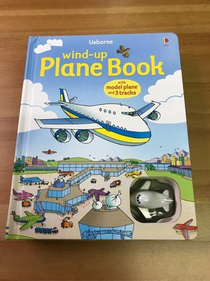 壓箱寶出清中UsBorne  WIND-UP PLANE BOOK (發條飛機英文玩具書)