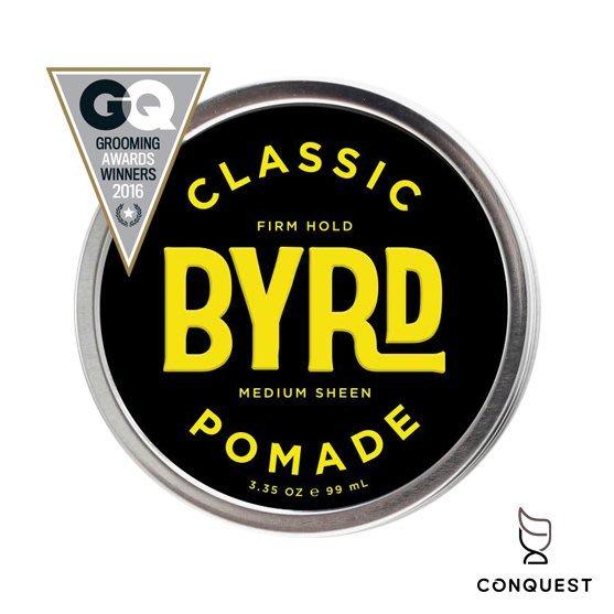 【 CONQUEST 】BYRD CLASSIC Pomade 油性髮油 蠟性髮油 抗汗高定型力 衝浪運動首選髮油