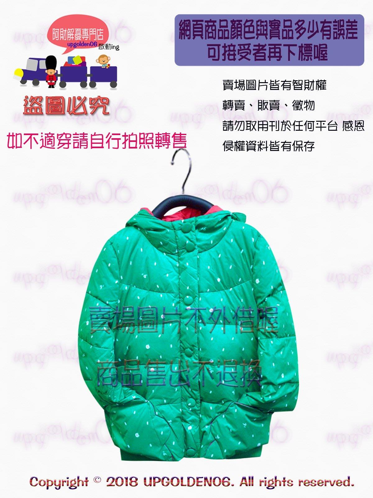 僅1 【禦寒必備 還是絕版好】 牌價4390元 a la sha 滿滿小熊短版羽絨外套 綠S 全新