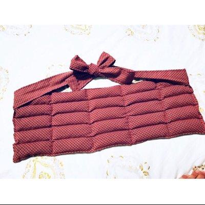 ?溫敷聖品-保暖紅豆袋《特製商品區》5x5 含綁帶。熱敷肚子 子宮保暖 肚子痛 經期熱敷 肚兜 腹部保暖 送禮 母親節