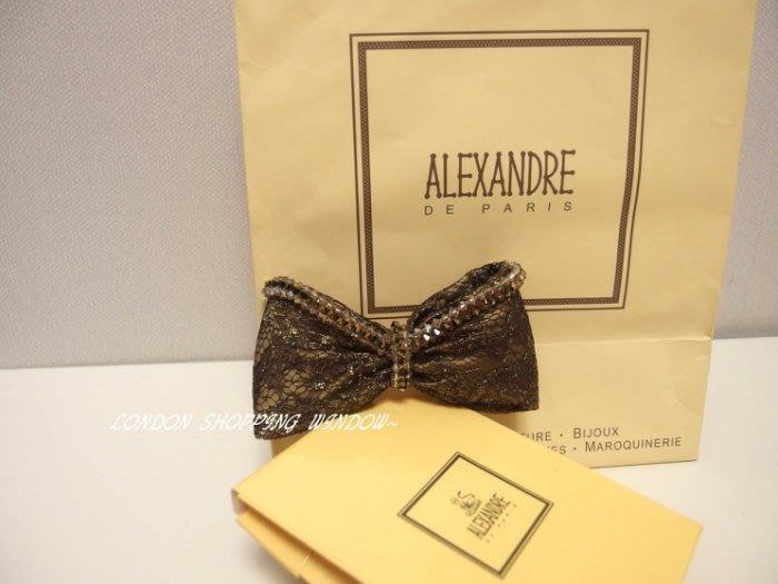 法國 ALEXANDRE DE PARIS 亞歷山卓 法飾 髮夾 *倫敦櫥窗*