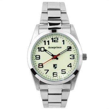 時間   亞瑟王子Arseprince 學院世代潮流中性錶-夜光 水晶鏡面 機芯BHAH