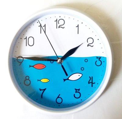 Osmileooo-小魚時鐘 掛牆鐘 21cm