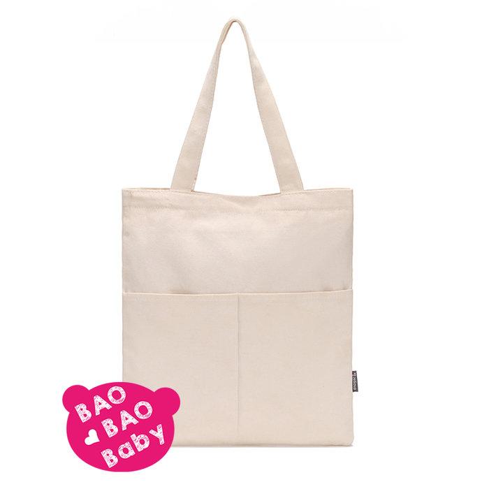 【寶貝日雜包】帆布手提袋 帆布包 單肩包 側背包 肩背包 側肩包 手提袋 手提包 購物袋