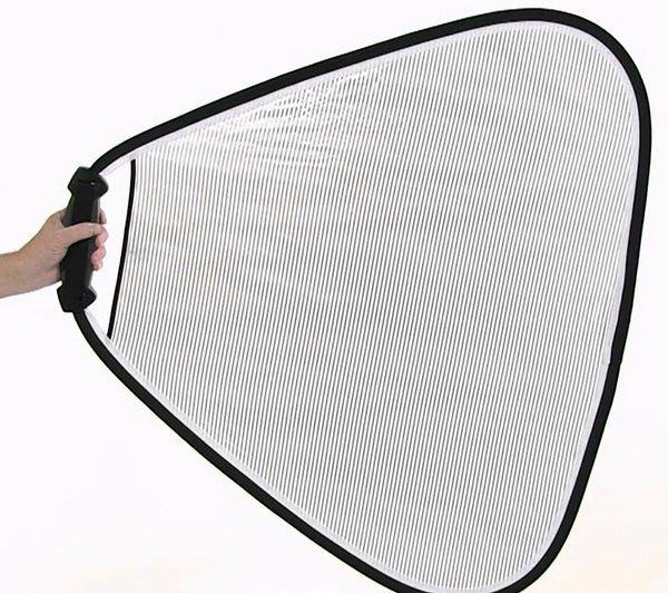 呈現攝影-英國Lastolite LR3652 手持式反光板 透光柔光銀 75cm 柔光幕 擴散/柔光板  公司貨