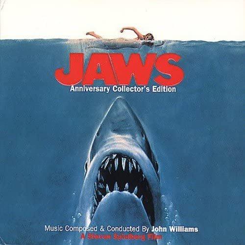 歐版CD電影原聲帶《大白鯊》週年紀念數位重製版 /Jaws: The 25th Anniversary Edition全