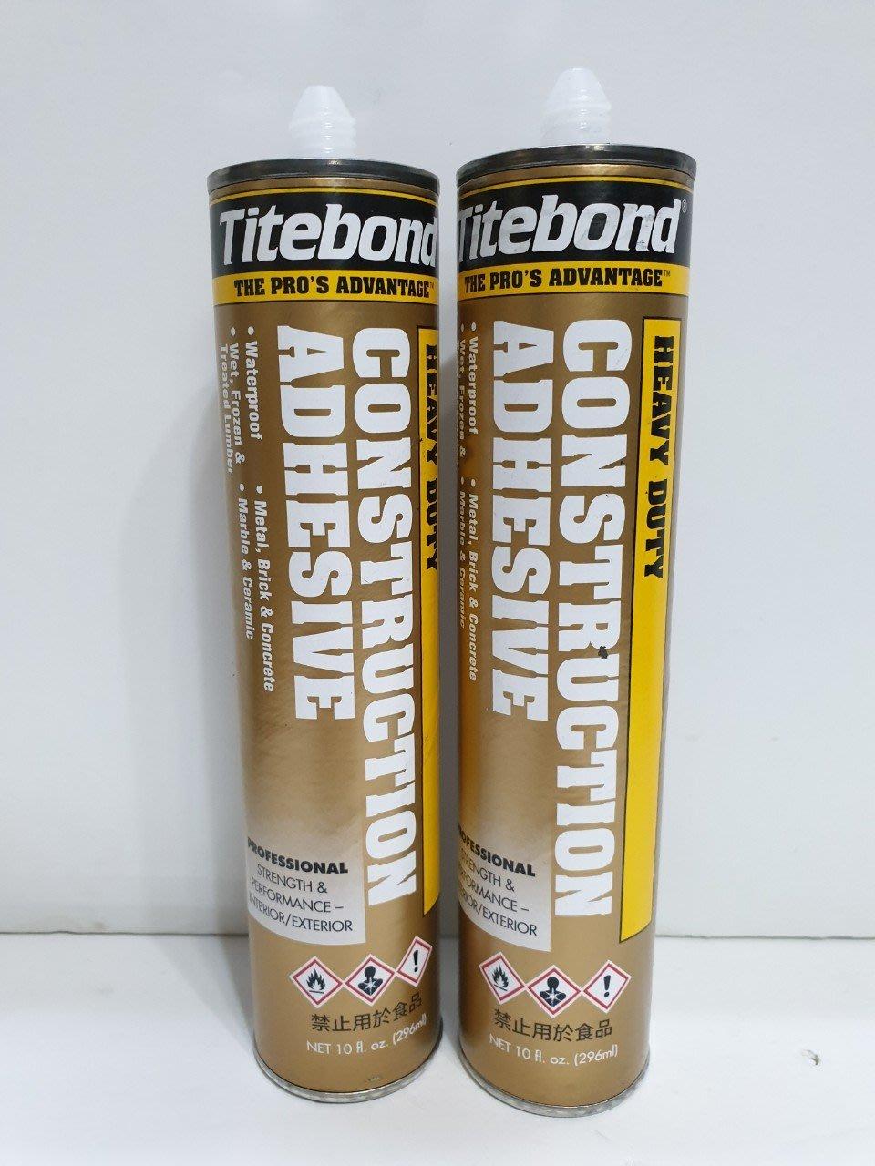 [曾旺]美國 Titebond 太棒膠 萬能膠 免釘膠 296ml 超商一次10罐