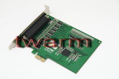《德源科技》r)UT-788,8口RS232 PCI-E高速多串口卡