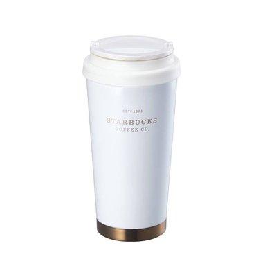 全新正品-2018韓國星巴克Elma夏日奶油色不鏽鋼隨行杯473ml