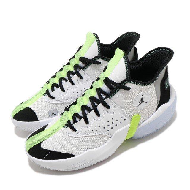 [飛董] NIKE JORDAN REACT ELEVATION PF 籃球鞋 男鞋 CK6617 103 白綠