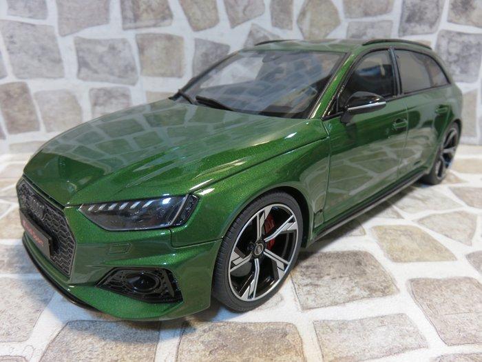 宗鑫貿易 GT SPIRIT GT296 Audi RS4 Avant 金屬綠 2020