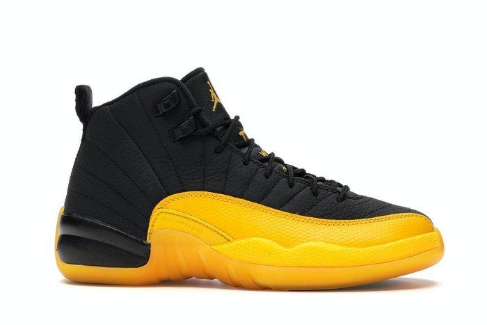【美國鞋校】預購 Jordan 12 Retro Black University Gold 153265-070 大童