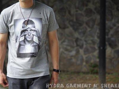 【HYDRA】法國直送 HMN Hype Means Nothing 遮眼 貝克漢 黑 灰 白 三色現貨販售中 Tee XS~XL