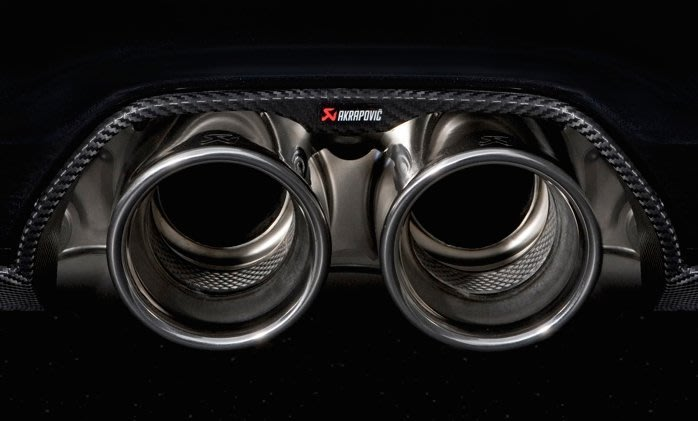 【樂駒】Akrapovic 蠍子 997 GT3 / GT3 RS MK2 碳纖維 carbon 下巴 改裝 套件 空力
