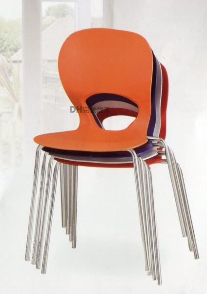 【DH】貨號Q390-7《花兒》亮面椅/餐椅/洽談椅/單人椅/多功能˙四色˙歡迎大量˙主要地區免運