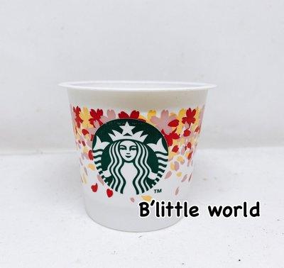 *B Little World * [現貨]日本限定星巴克布丁杯/緋紅櫻花/東京連線