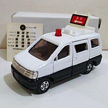 TOMY Tomica No. 89 Nissan 日產 Elgrand Patrol Car Police 警車