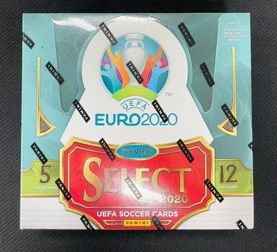 2020 Panini Select UEFA EURO Soccer Hobby 精選系列 歐洲國家盃 足球卡  免運