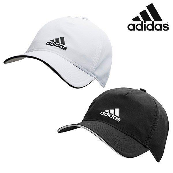 Files - ADIDAS 基本 老帽 鴨舌帽 刺繡 休閒 輕量化 男女 黑CG1781 白CG1780