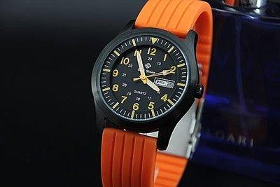 168錶帶配件 /臺灣製,超酷黑色ipb不鏽鋼表壳,日本 SEIKO 精工原廠 VX43 石英機芯,強悍軍風防水石英錶,