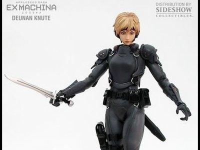 全新未開 Hot Toys Apple Seed 蘋果核戰記 Ex Machina 1/6 scale Deunan Knute Action Figure