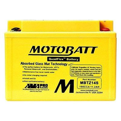 MOTOBATT AGM 強效型機車啟動電池 - MBTZ14S