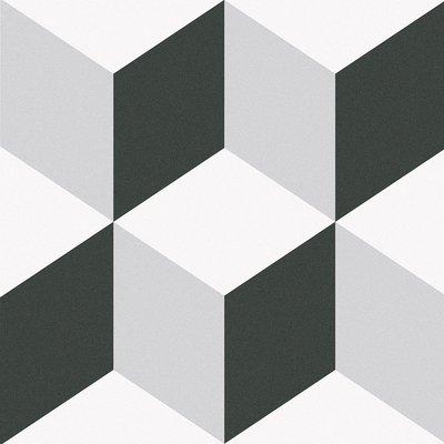 《戀家磁磚工作室》西班牙進口磚 25*25公分 幻景-地毯花磚(單花) 微甜的粉藍帶出花磚的萬種風情 設計師首選