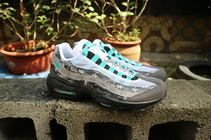 玉米潮流本舖 NIKE AIR MAX 95 AQ0925-001 ATMOS 獨家配色 限量款 復古氣墊慢跑鞋 特殊盒
