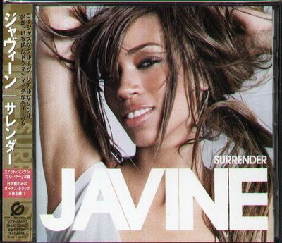 八八 - Javine - Surrender - 日版 CD+2BONUS+VIDEO OBI