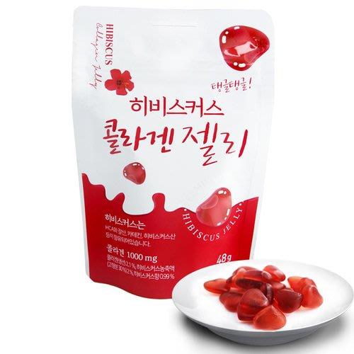 SD FOOD 洛神花 膠原蛋白軟糖 軟糖 韓國進口零食 JUST GIRL