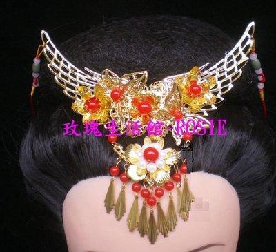 【演出show】~ 額皇~鳳冠髮飾 ,項鍊2用