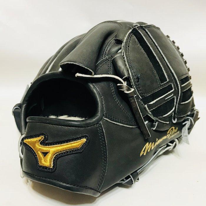 貳拾肆棒球-Mizuno pro 日本職棒唐川式樣訂作硬式投手手套展示品/耕作作
