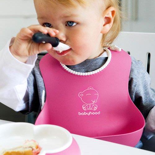 預售款-LKXD-兒童吃飯兜嬰兒仿硅膠防水圍嘴寶寶的立體圍兜口水巾食飯兜大號