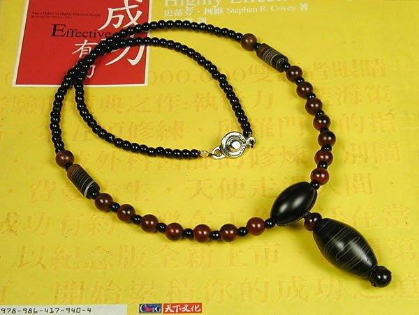 藏珠物流中心**纏絲瑪瑙橄型珠**秀氣項鍊** 特價 **F007