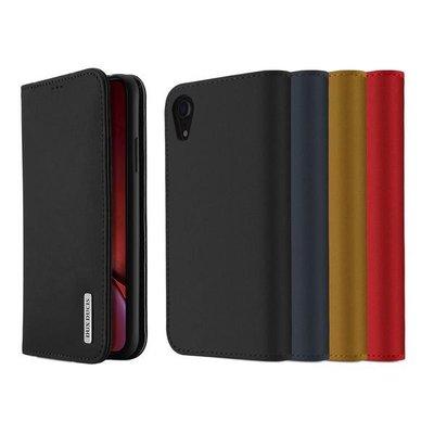 【愛瘋潮】DUX DUCIS Apple iPhone XR WISH 真皮皮套 掀蓋 可插卡 可立支架 側掀皮套