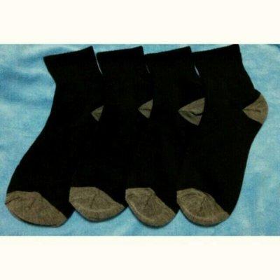 A款 雙色 黑襪  台灣製社頭襪 1/2 襪 中筒襪  學生襪 短襪 男襪 女襪  工作襪