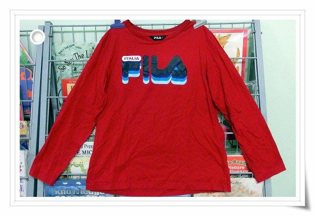 *【小小pen童衣】....為初秋的準備~~FILA 全棉長袖 ITALIA FILA