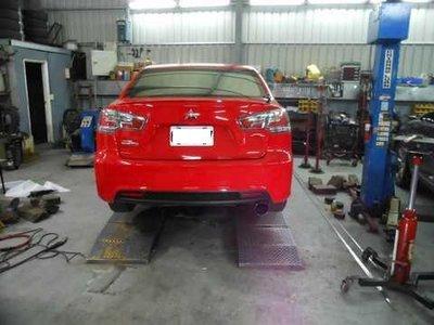 [排氣管工匠 ] Mitsubishi FORTIS Lancer 排氣管 內部結構改良 (全台獨家專利研究) 0 直購