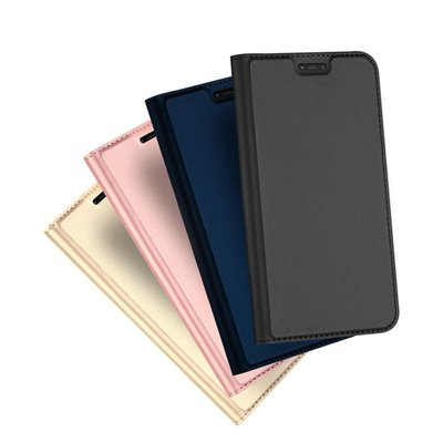 【現貨】ANCASE DUX DUCIS MIUI 紅米 Note 6 Pro SKIN Pro 皮套 側掀 可立支架設