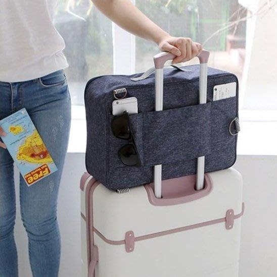 旅行包 手提包 單肩包雙肩包 (現貨) 背包 子母包可插掛在拉杆行李箱上 旅行出國收納肩背包 商務包
