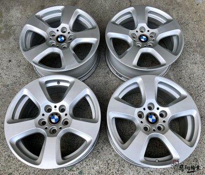 二手/ 中古鋁圈 BMW E61 17吋 5孔120 原廠 銀 E36 E46 E87 F20 X1 X3 E90 F30 新北市