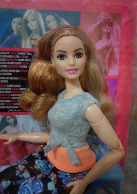芭比娃娃瑜珈體瑜伽體白肌/Curvy Barbie Made to Move/胖體/豐腴體型/全新品現貨