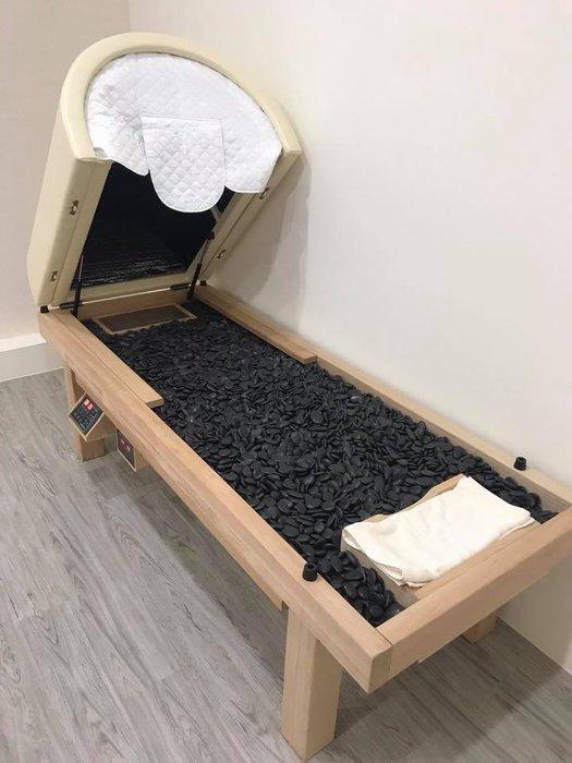 岩盤浴.*養生堂老字號*黑色能量石岩盤浴床 遠紅外線岩盤浴 手工實木製做 台灣工廠製造 非神之湯非湯之花